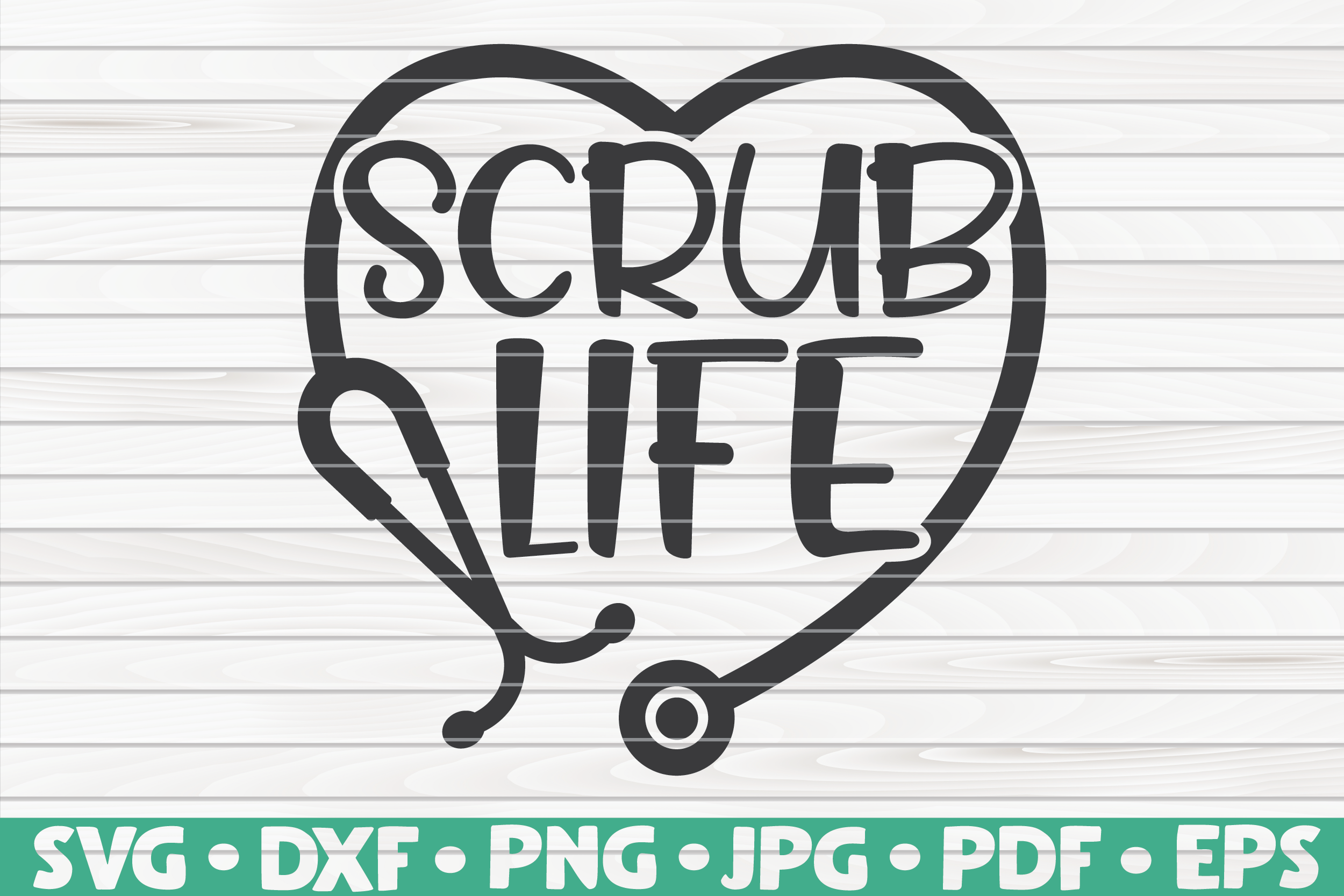 Scrub Life Svg By Hqdigitalart Thehungryjpeg Com