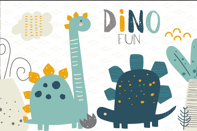Dino Fun By Poppymoon Design Thehungryjpeg Com