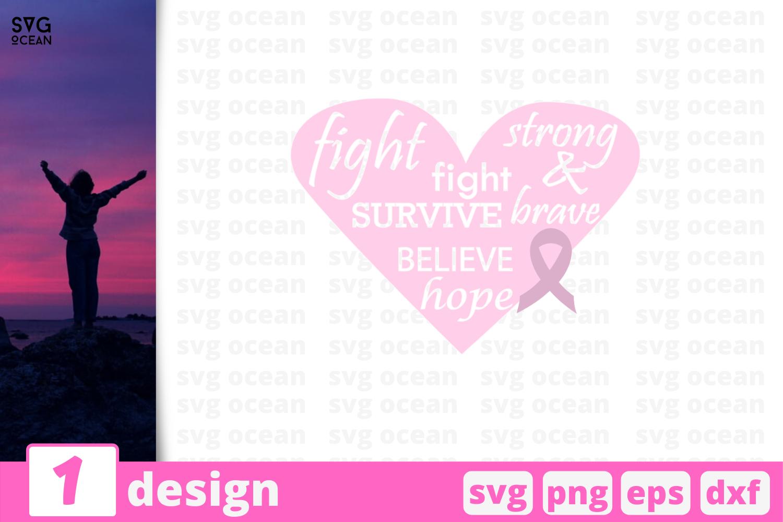 1 Fight Cancer Svg Bundle Quotes Cricut Svg By Svgocean