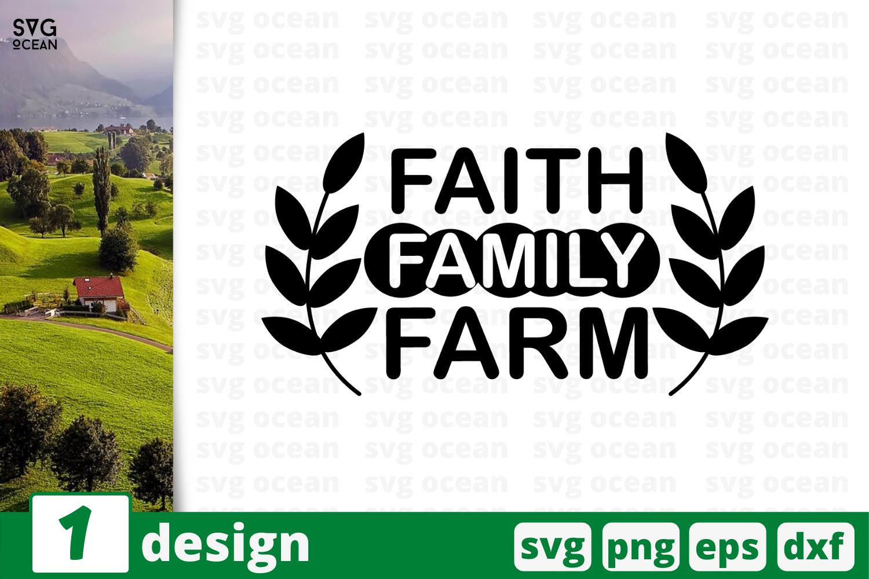 1 Faith Family Farm Svg Bundle Quotes Cricut Svg By Svgocean