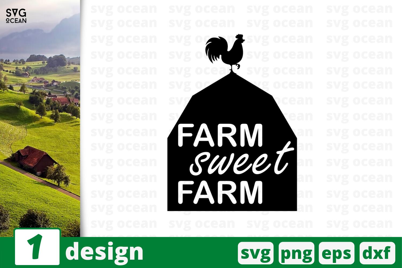 1 Farm Sweet Farm Svg Bundle Quotes Cricut Svg By Svgocean