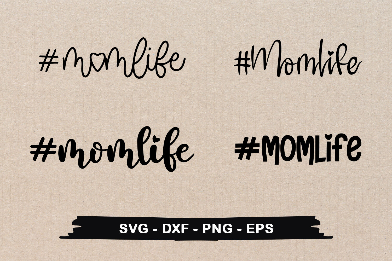 Momlife Typographic Svg Design Bundle By Craftlabsvg