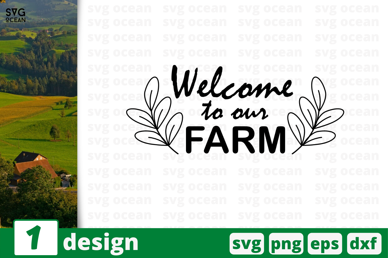 1 Weloce To Our Farm Svg Bundle Quotes Cricut Svg By Svgocean