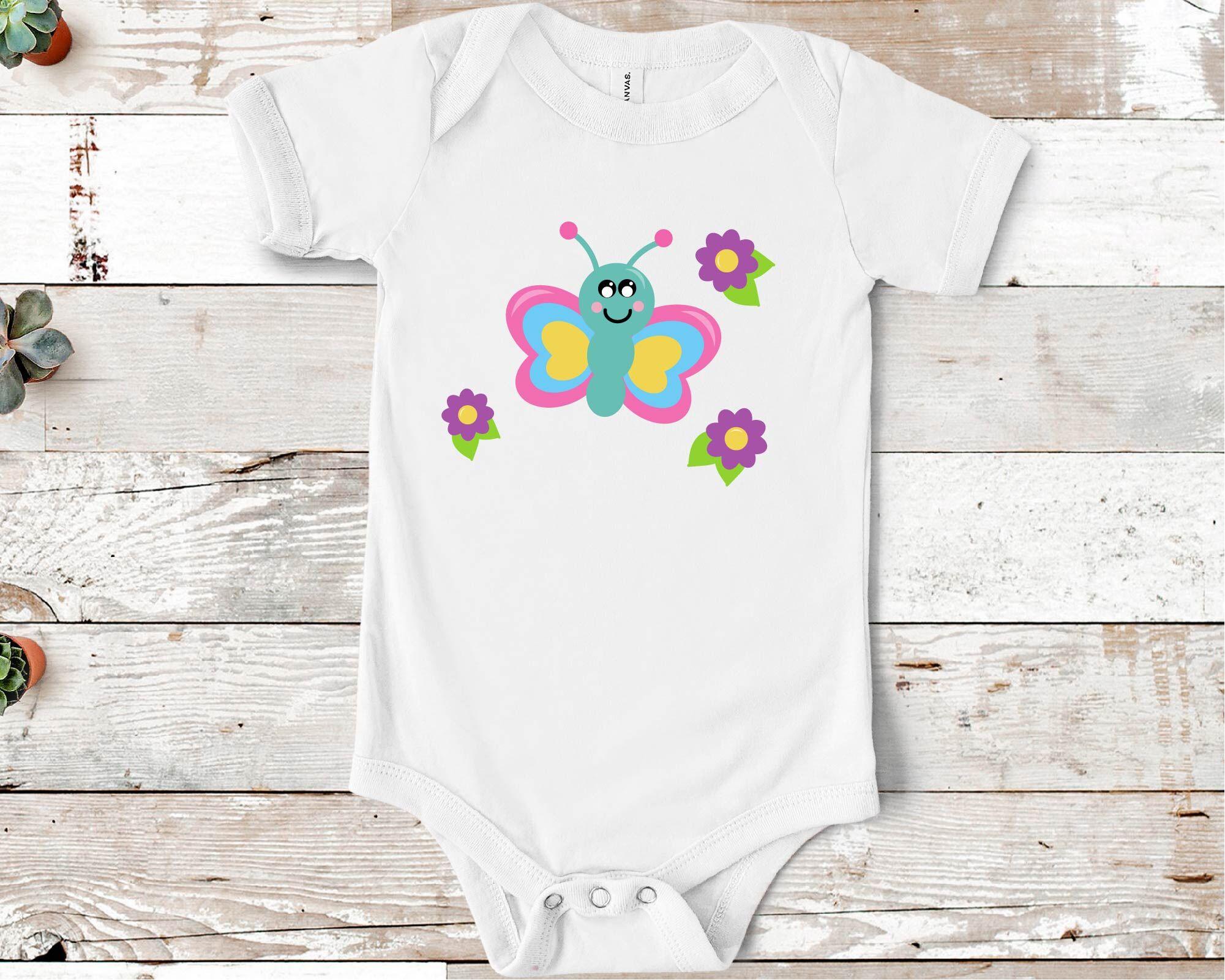 Cute Bugs Svg Ladybug Svg Butterfly Svg By Crafty Mama Studios