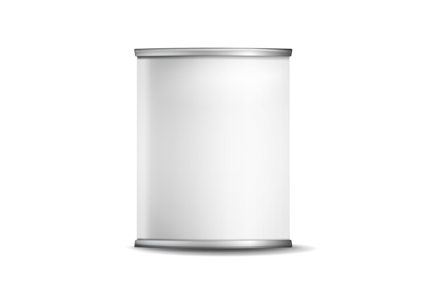 Download Tin Can Metal Rim Mockup Front View Yellowimages