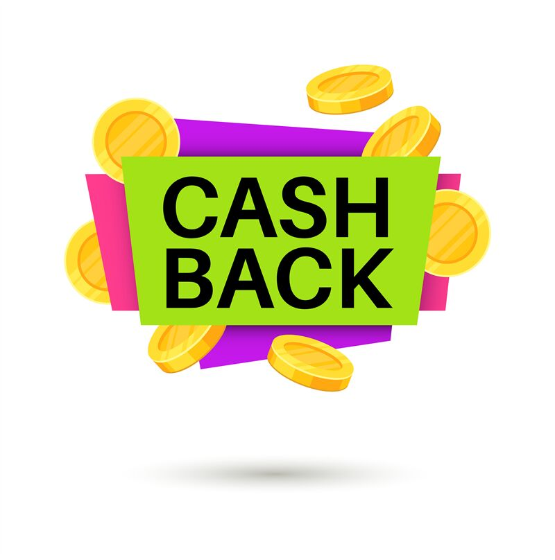 cash back banner cashback money sign isolated vector icon for retail by yummybuum thehungryjpeg com the hungry jpeg
