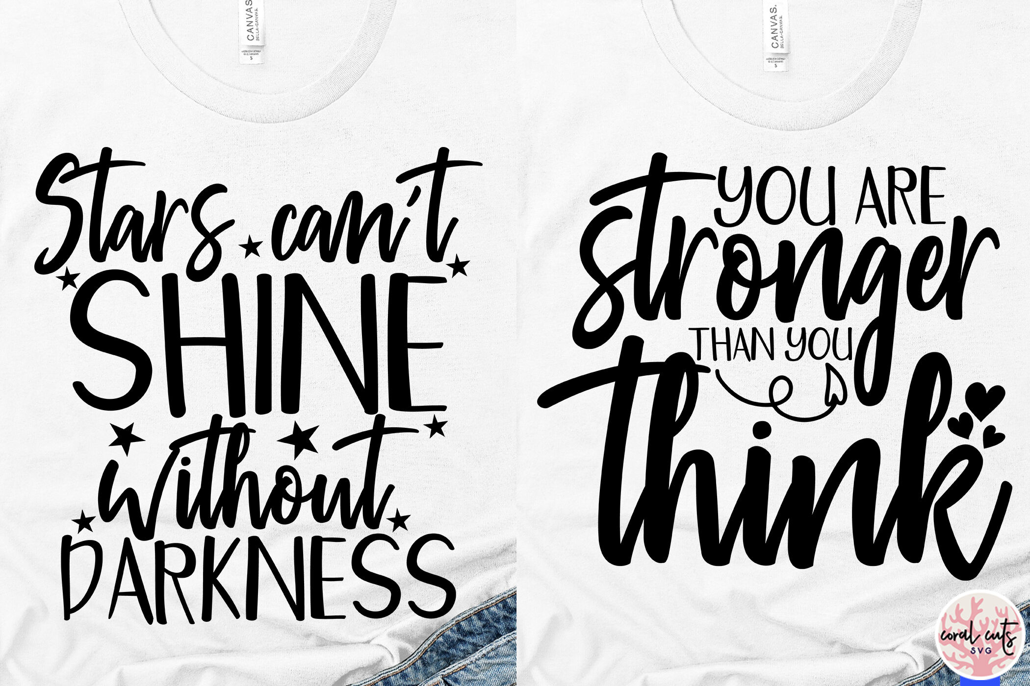 Inspirational Sayings Bundle Svg Eps Dxf Png By Coralcuts