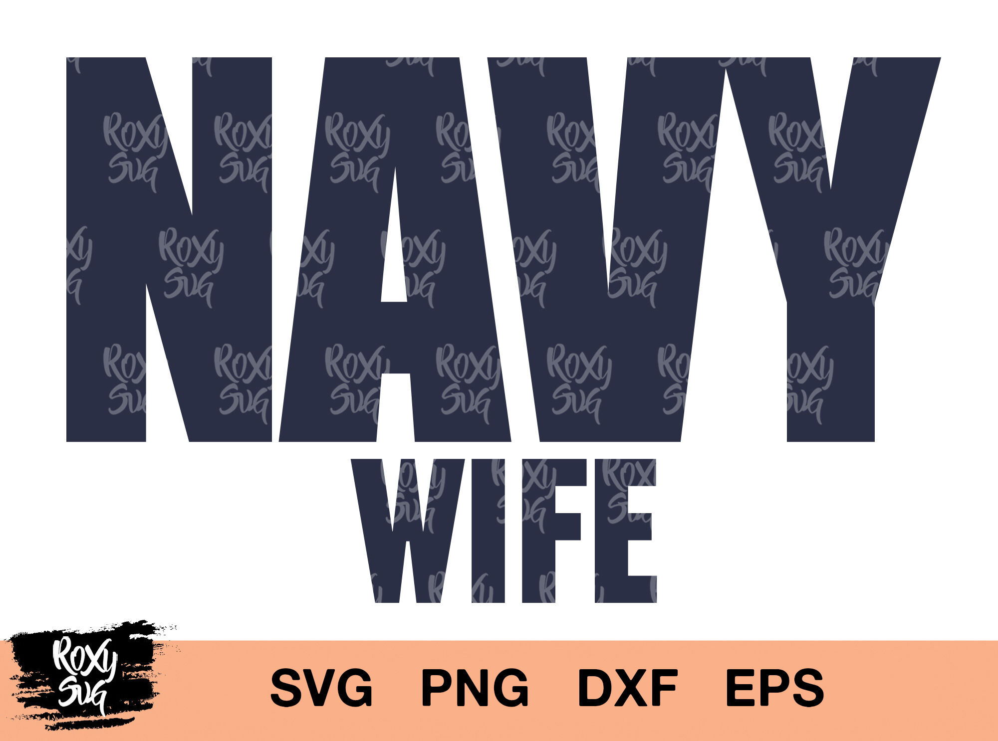 Us Navy Wife Svg Navy Wife Svg Navy Svg Navy Wife Clipart By