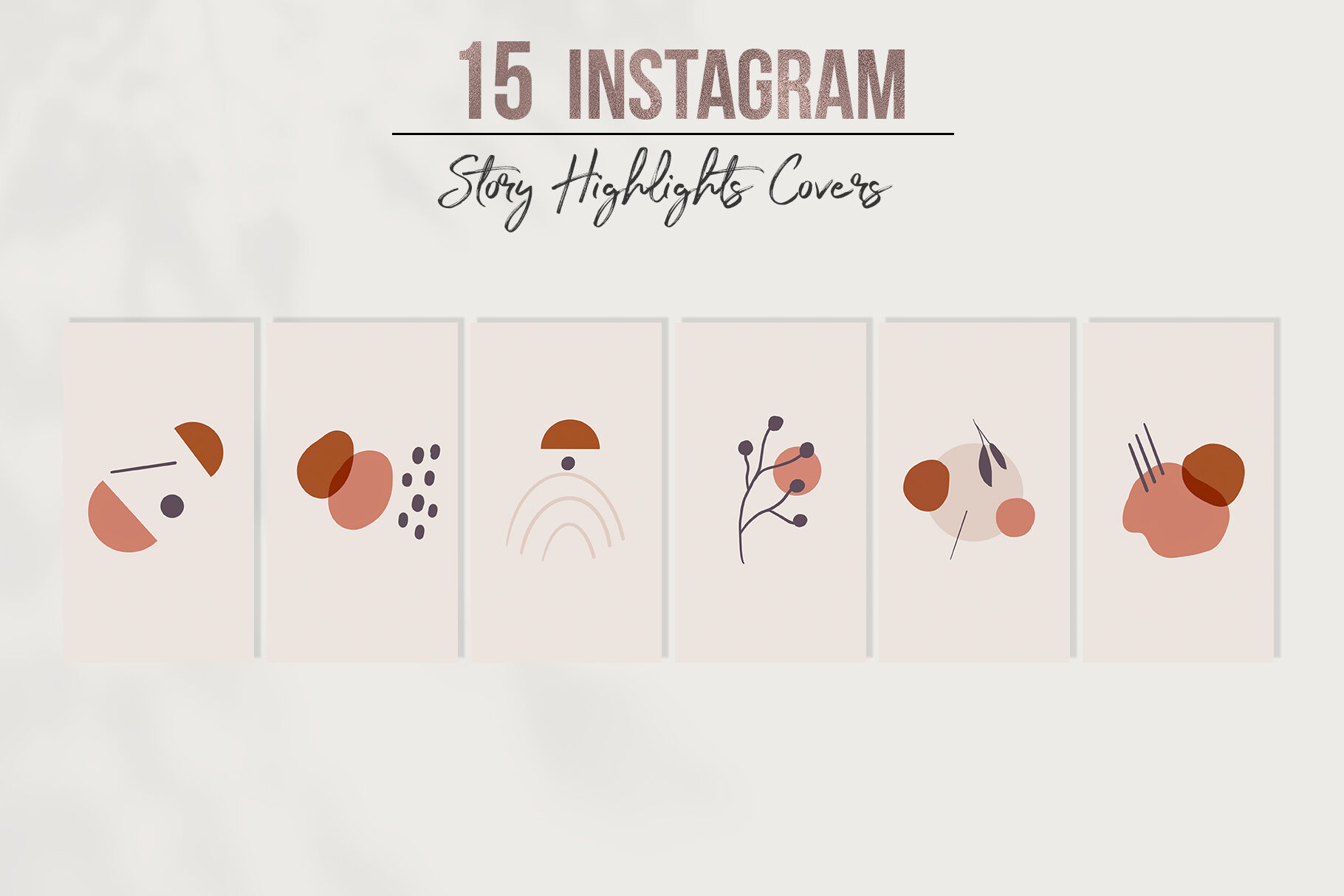 Instagram Story Highlights Covers By Millaly Thehungryjpeg Com