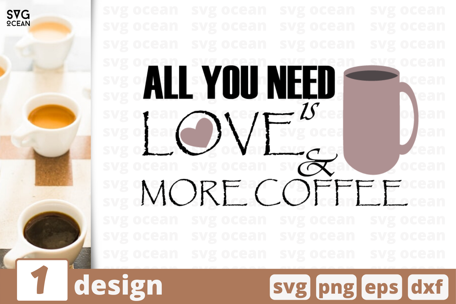1 Love More Coffee Svg Bundle Quotes Cricut Svg By Svgocean