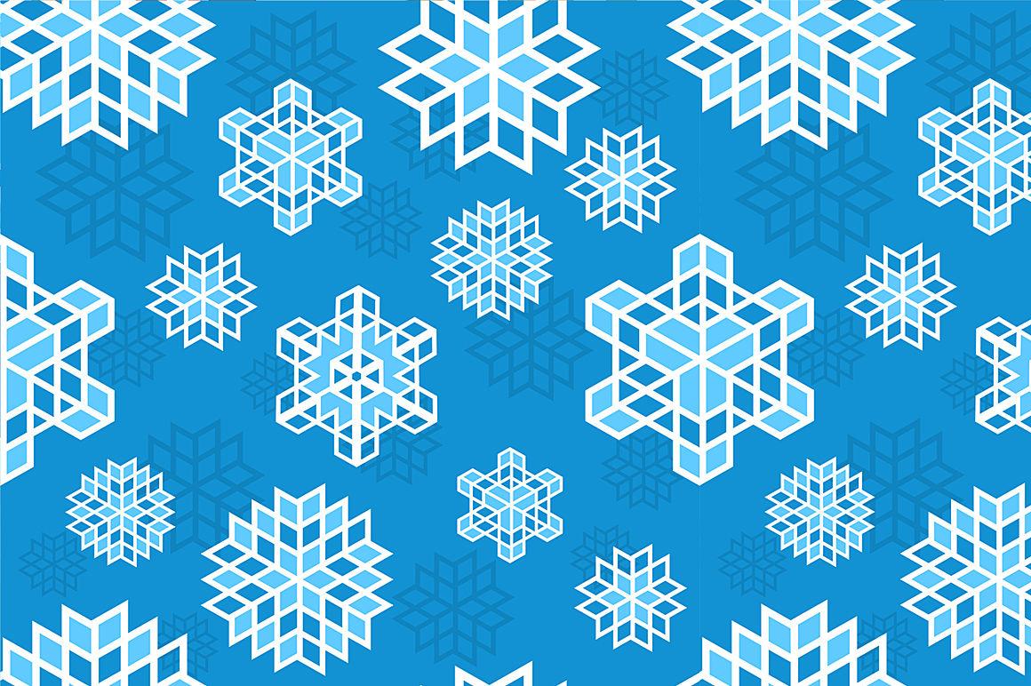 Seamless Christmas Patterns By Alexzel Thehungryjpeg Com