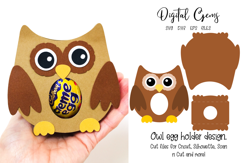 Owl Chick Unicorn And Sloth Egg Holder Designs By Digital Gems Thehungryjpeg Com