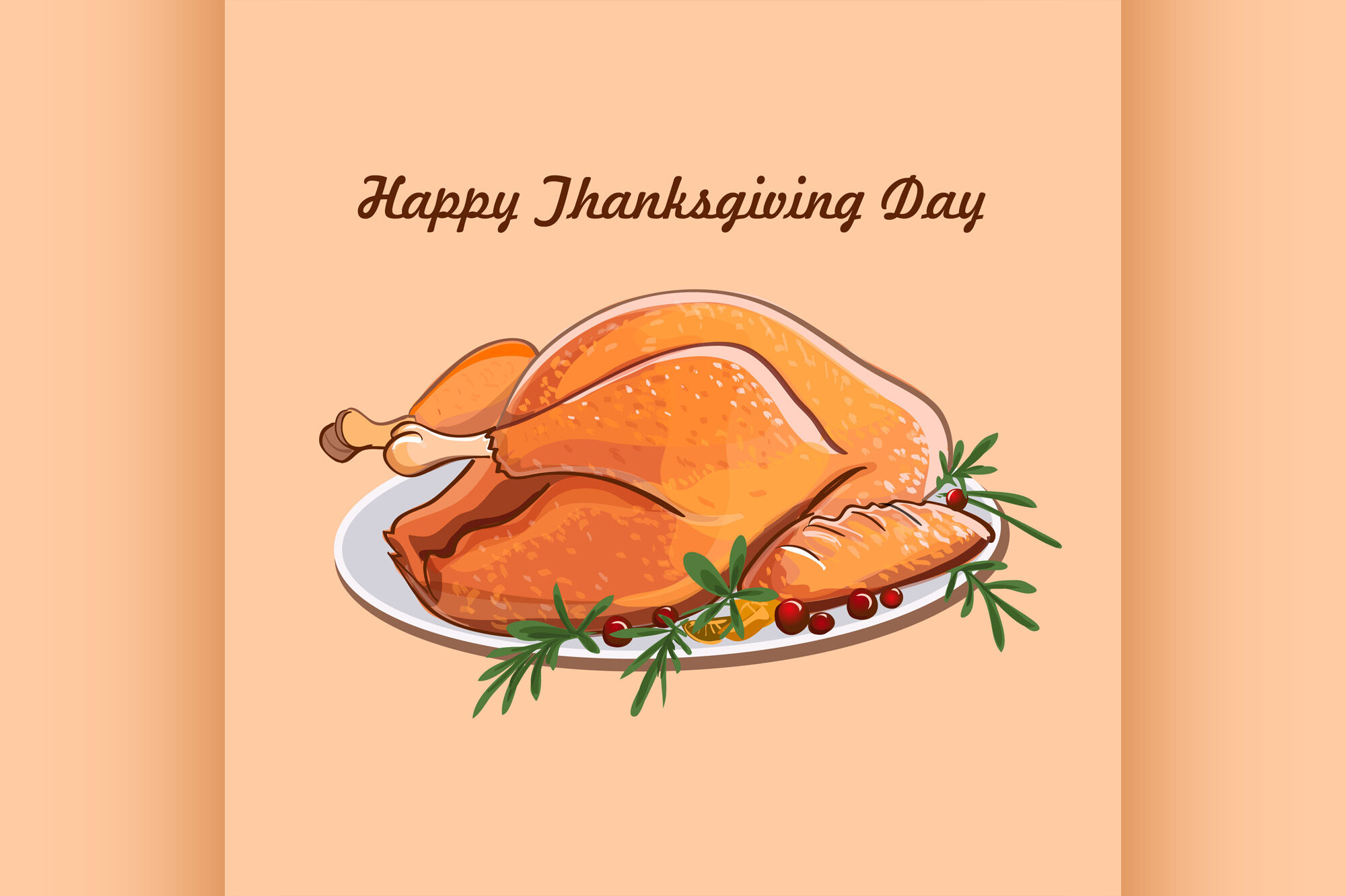 Thanksgiving Day Sale Design By Netkoff Thehungryjpeg Com
