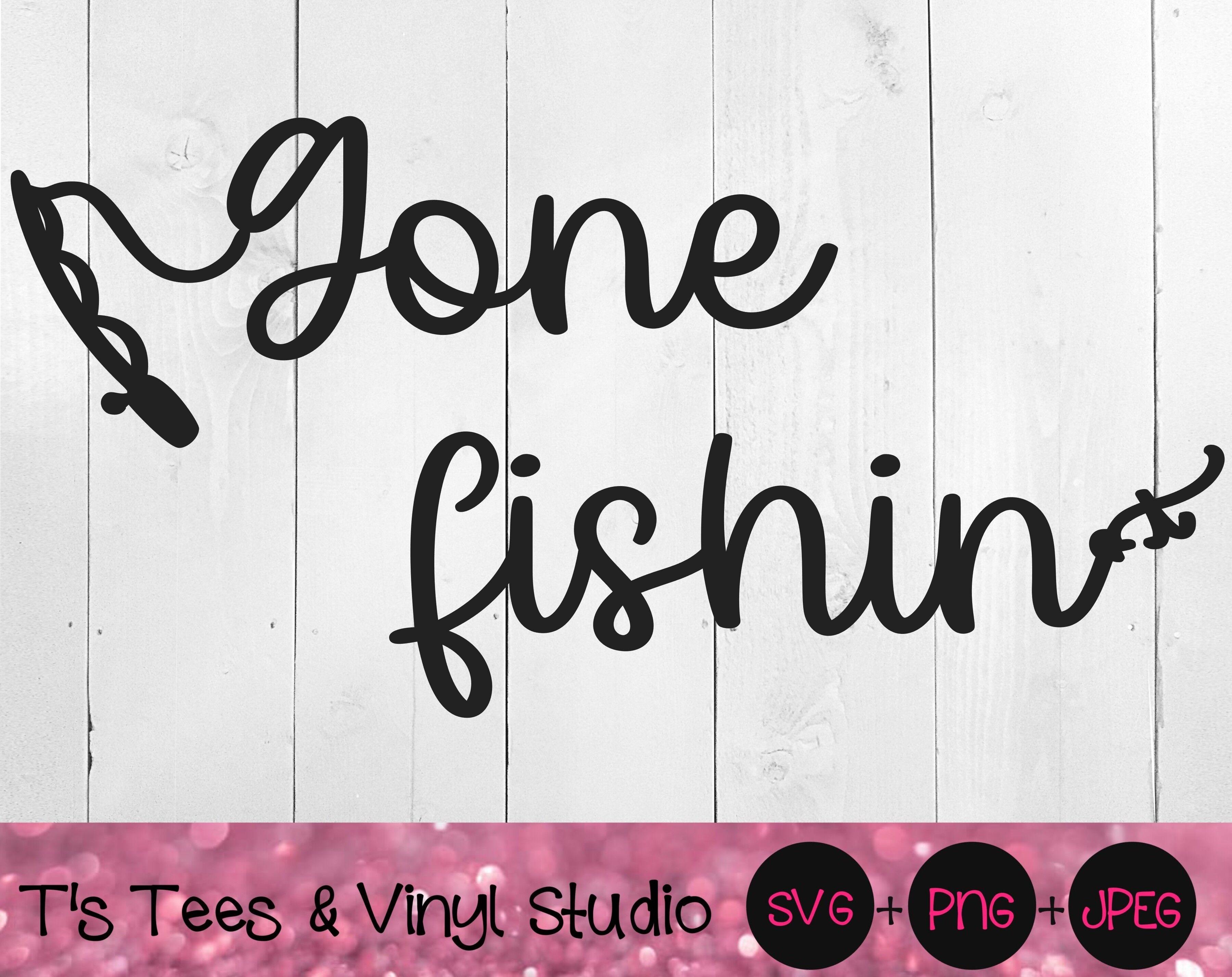 Download Gone Fishin Svg Gone Fishing Svg Fishin Svg Fishing Svg Fish Svg By T S Tees Vinyl Studio Thehungryjpeg Com