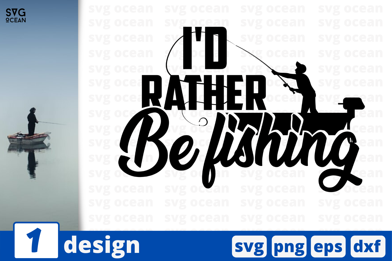Download 1 I D Rather Be Fishing Svg Bundle Quotes Cricut Svg By Svgocean Thehungryjpeg Com