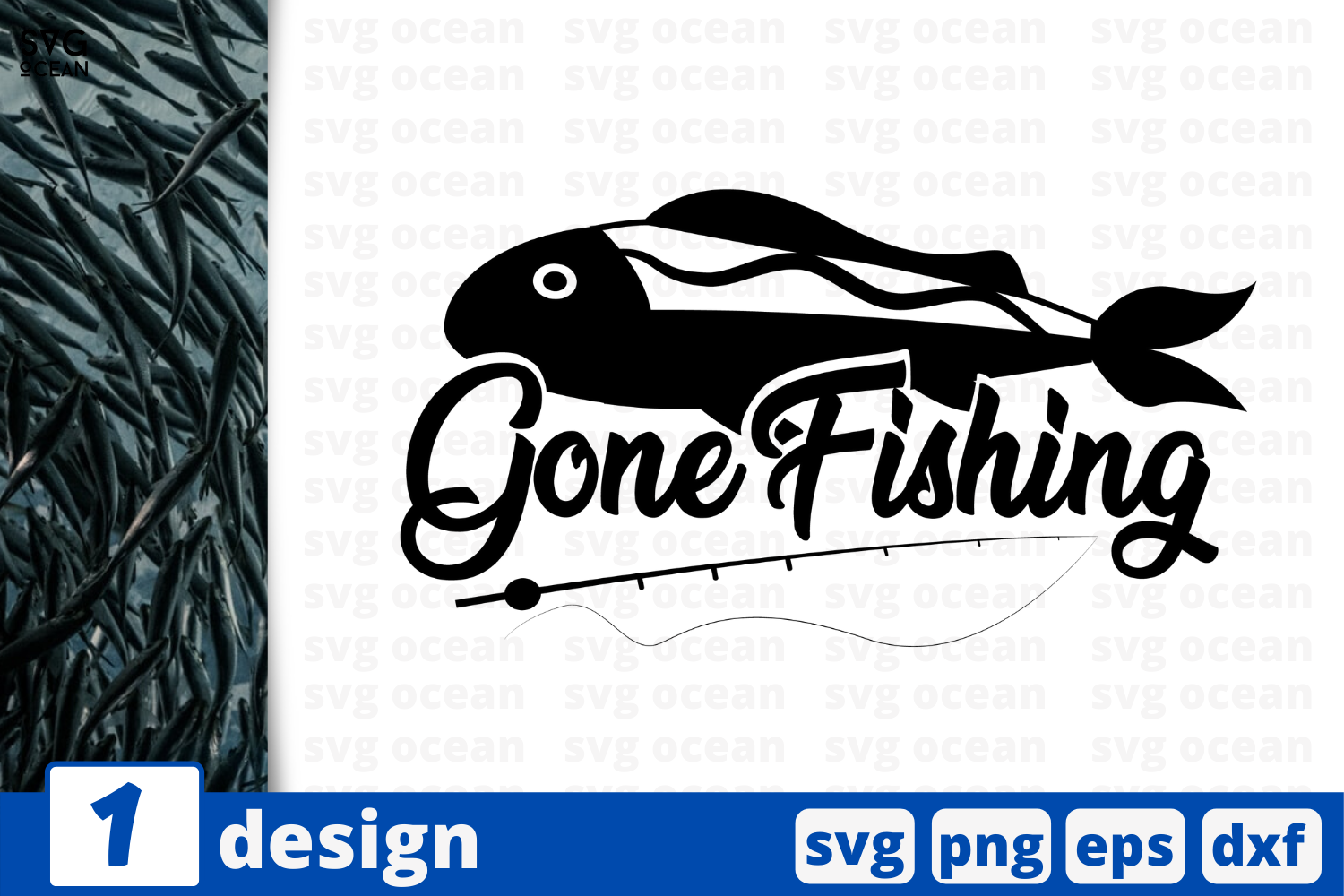 Download 1 Gone Fishing Svg Bundle Quotes Cricut Svg By Svgocean Thehungryjpeg Com