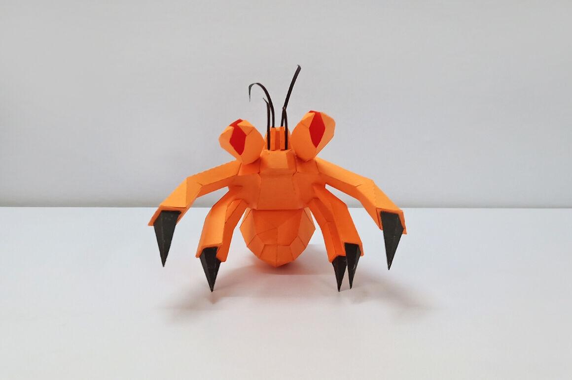 Hermit Crab « Friesen Folding | 772x1160