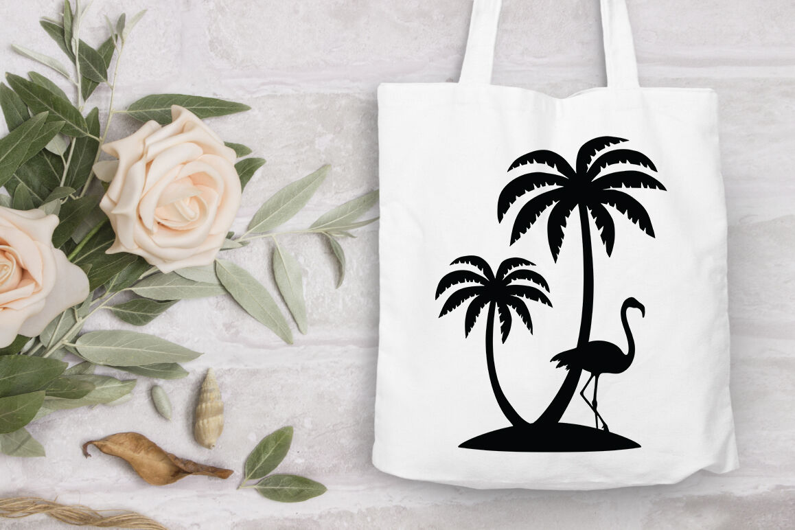 Palm Tree Bundle Svg Cut Files Summer Beach Tropical Svg By Doodle Cloud Studio Thehungryjpeg Com