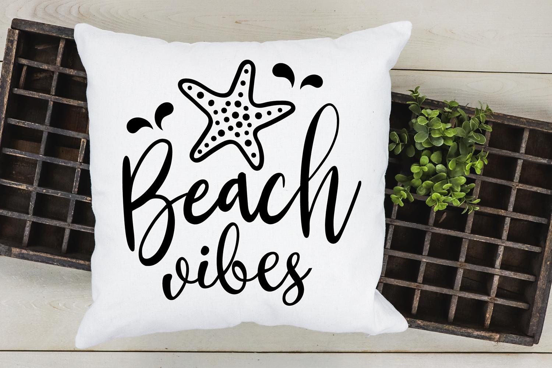 Beach vibes SVG cut file, Summer SVG, Beach SVG By VR Digital ...
