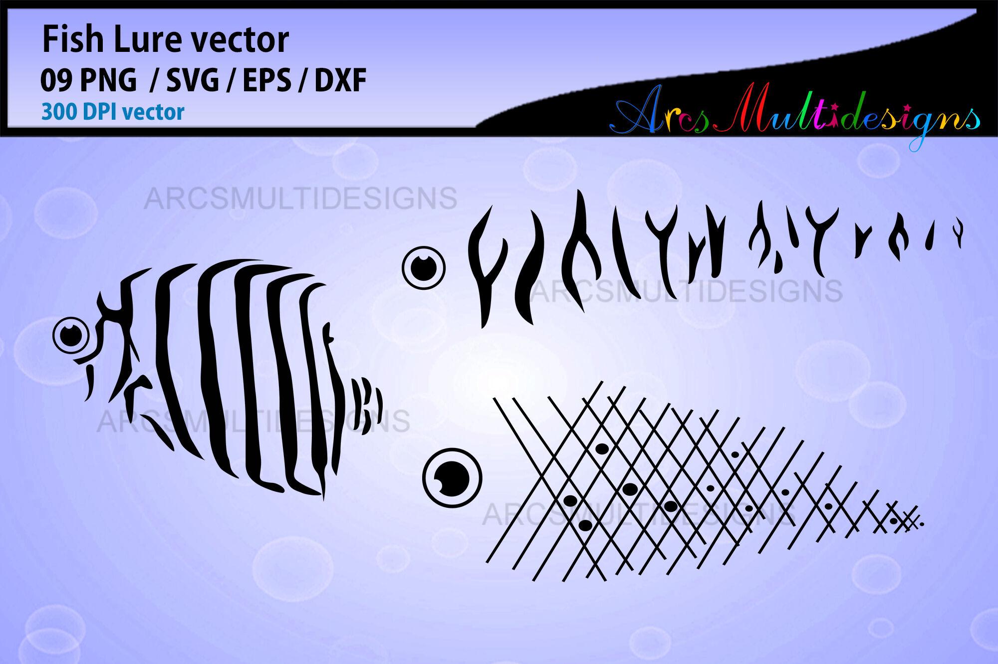Download Fishing Lure Svg Bundle By Arcsmultidesignsshop Thehungryjpeg Com
