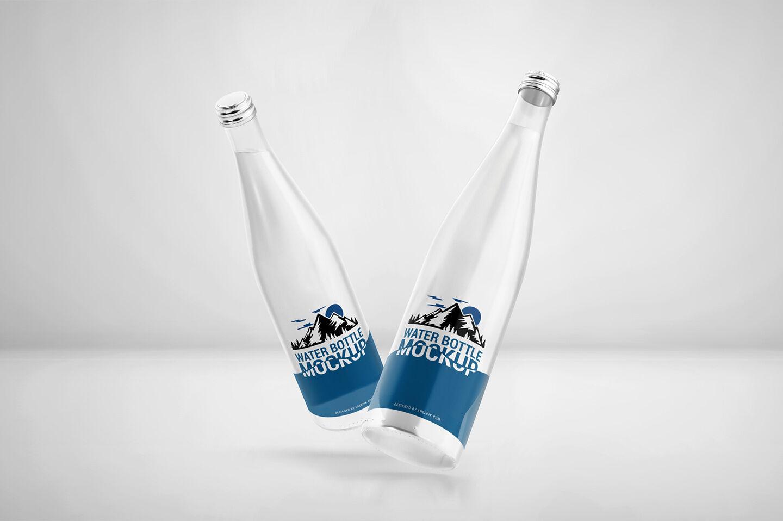 Free Psd Bottle Mockup
