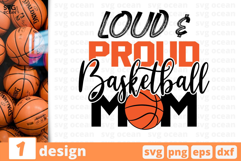 1 Loud Proud Sadketball Mom Basketball Quote Cricut Svg By Svgocean Thehungryjpeg Com