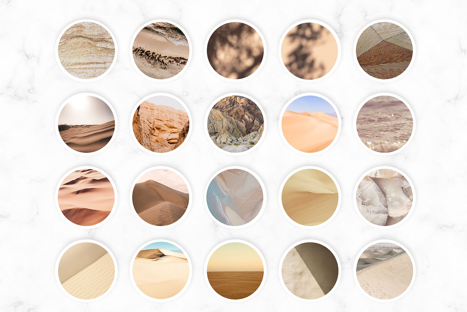 Neutral Instagram Highlight Covers By Millaly Thehungryjpeg Com