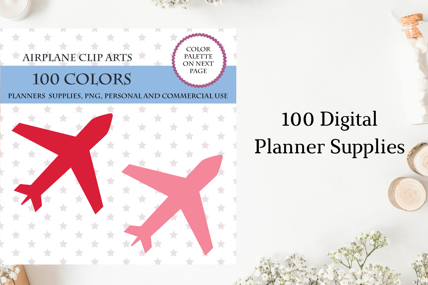 100 Airplane Clipart Plane Clipart Plane Clip Art By Old Continent Design Thehungryjpeg Com