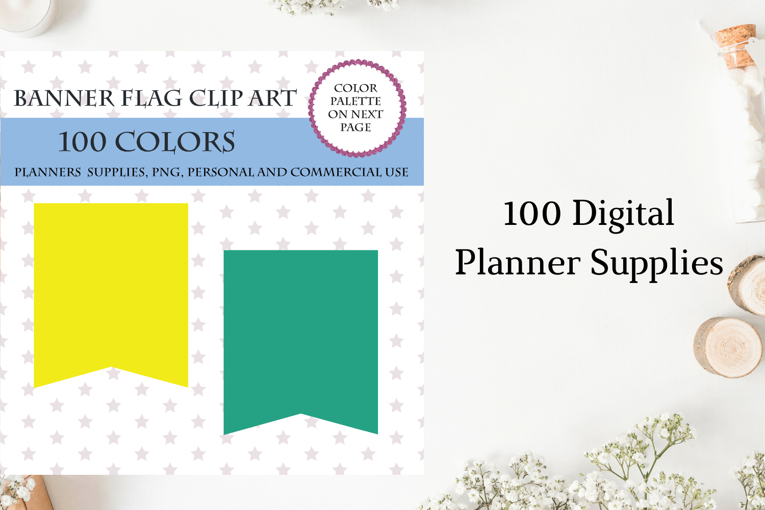 100 Banners Flag Clipart Banners Flag For Scrapbooking Flags Clipart By Old Continent Design Thehungryjpeg Com