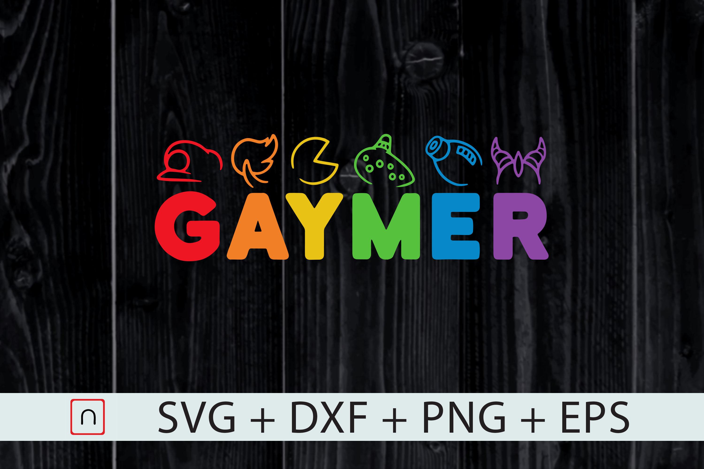 Lgbt Gaymer Pride Funny Gamer Lgbtq By Novalia Thehungryjpeg Com