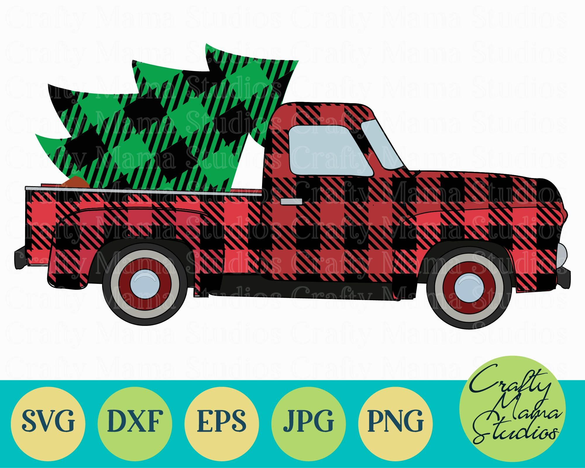 Download Free Vintage Christmas Truck Svg Svg File Download Free And Premium Svg Cut Images