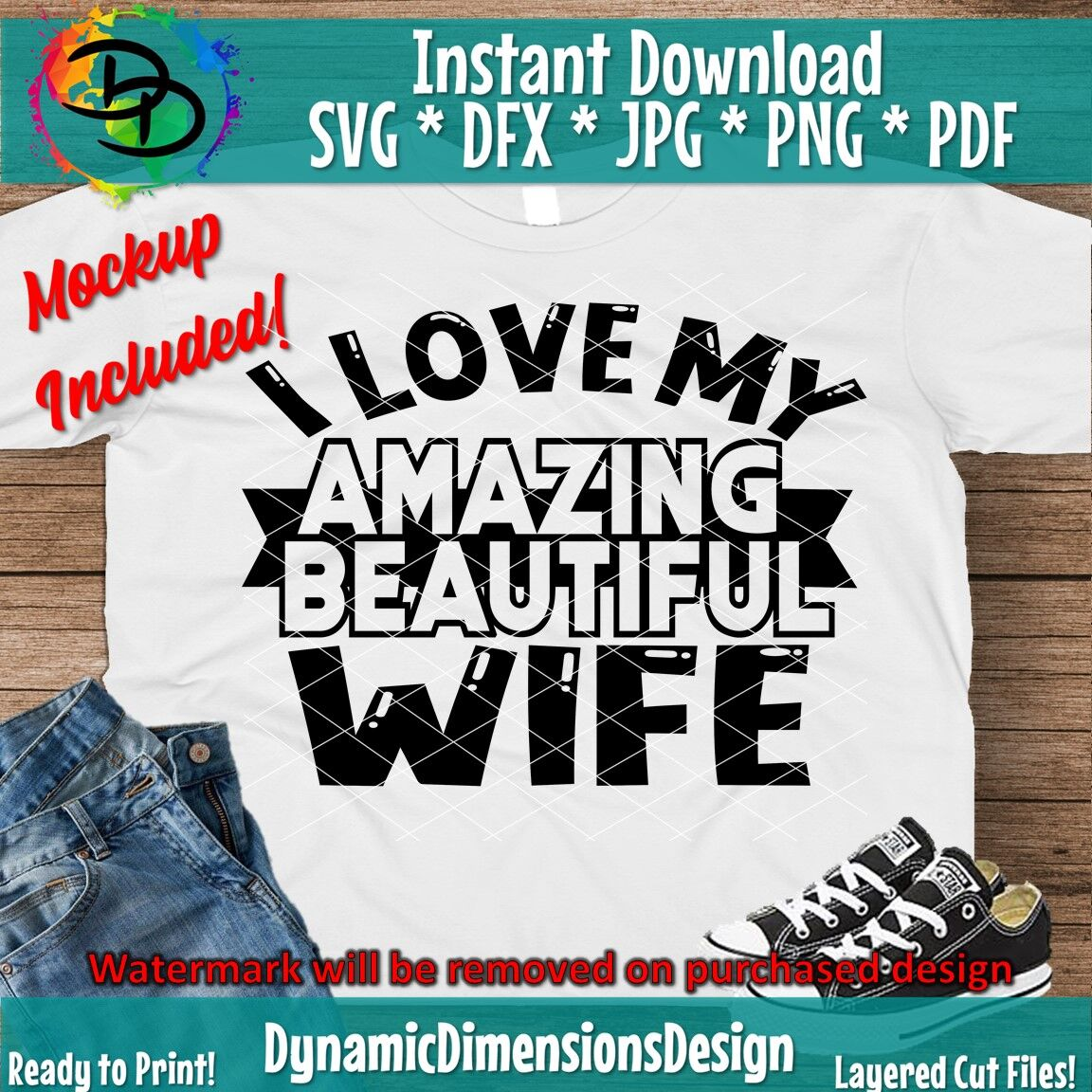 Download I Love My Wife Svg Image