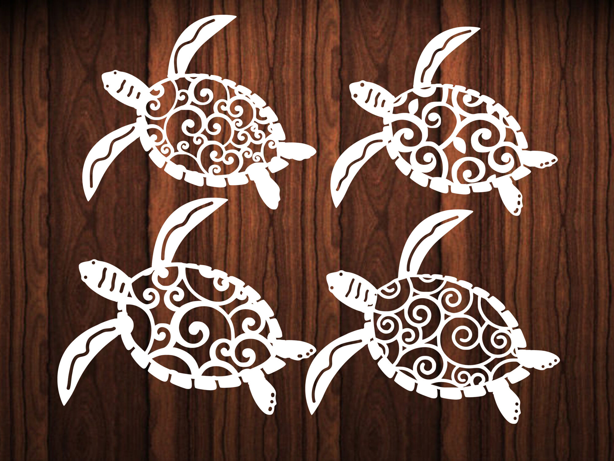 Paper Cut Template Turtle By Dxf Store Thehungryjpeg Com