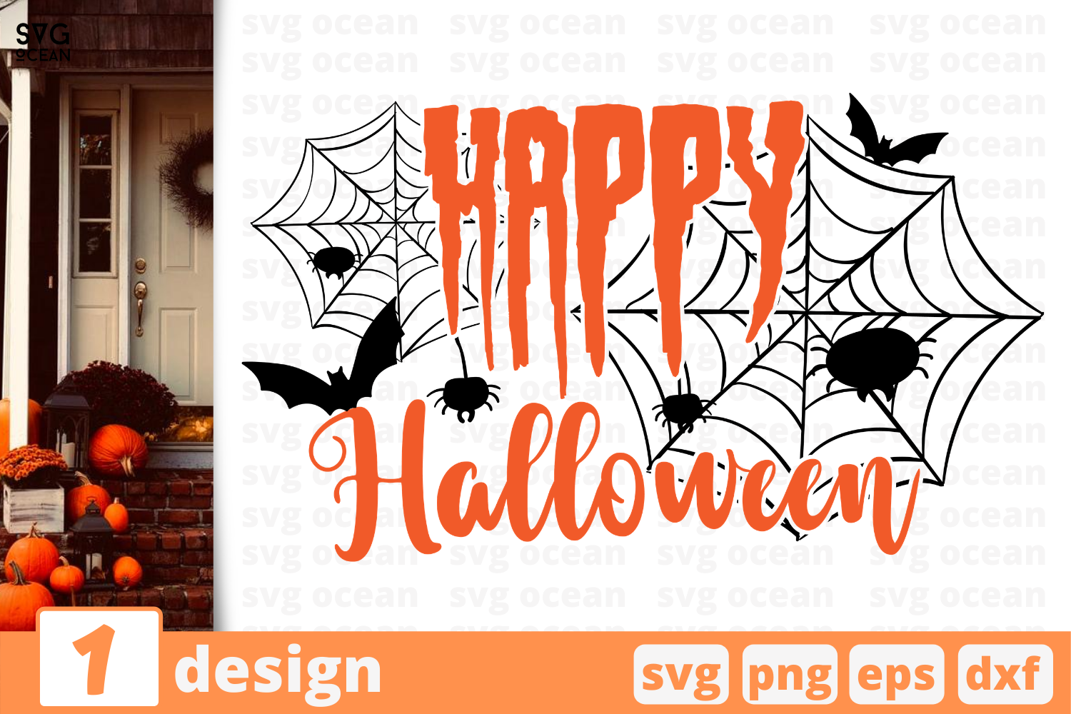 1 Happy Halloween Halloween Quotes Cricut Svg By Svgocean Thehungryjpeg Com