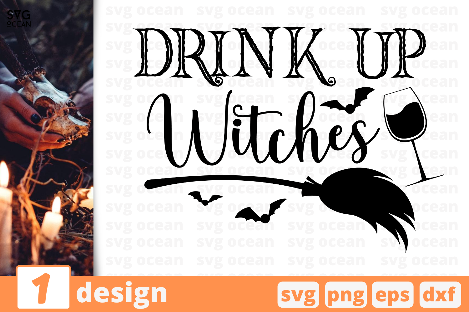 View Drink Up Witches, Halloween, Wine, Glass, Svg, Dxf, Cut Files PNG
