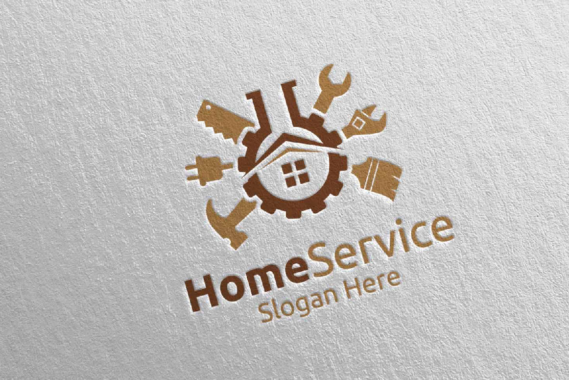 Lab Real Estate And Fix Home Repair Services Logo 40 By Denayunethj Thehungryjpeg Com
