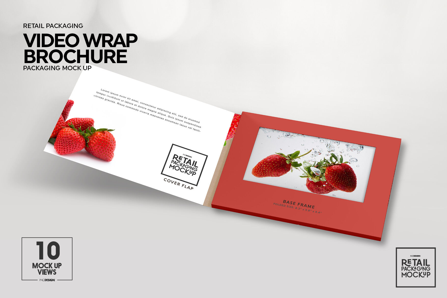 Download 4 Fold Brochure Mockup Psd Yellowimages