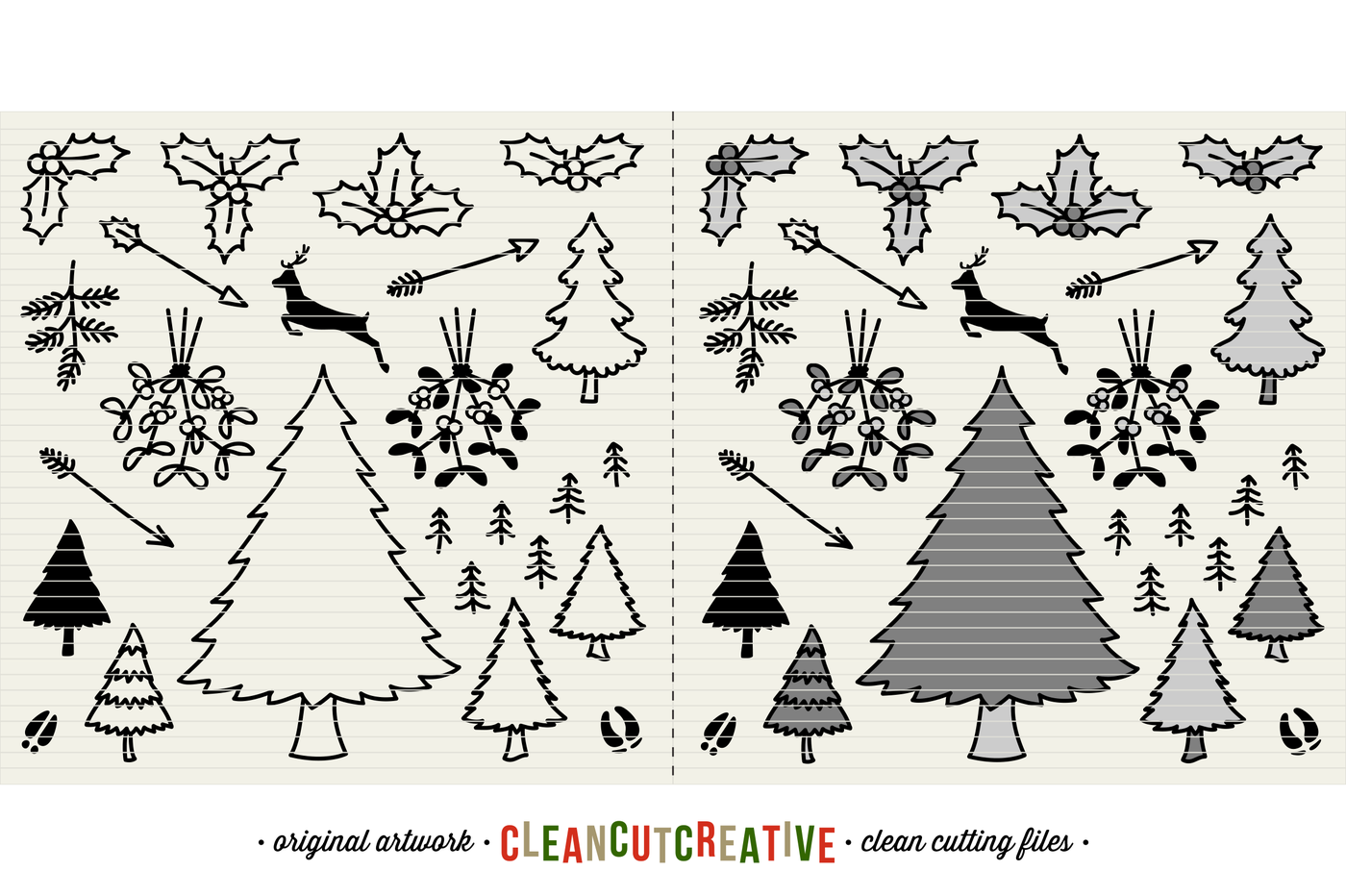 The Crafters Christmas Toolkit 150 Christmas Design Elements