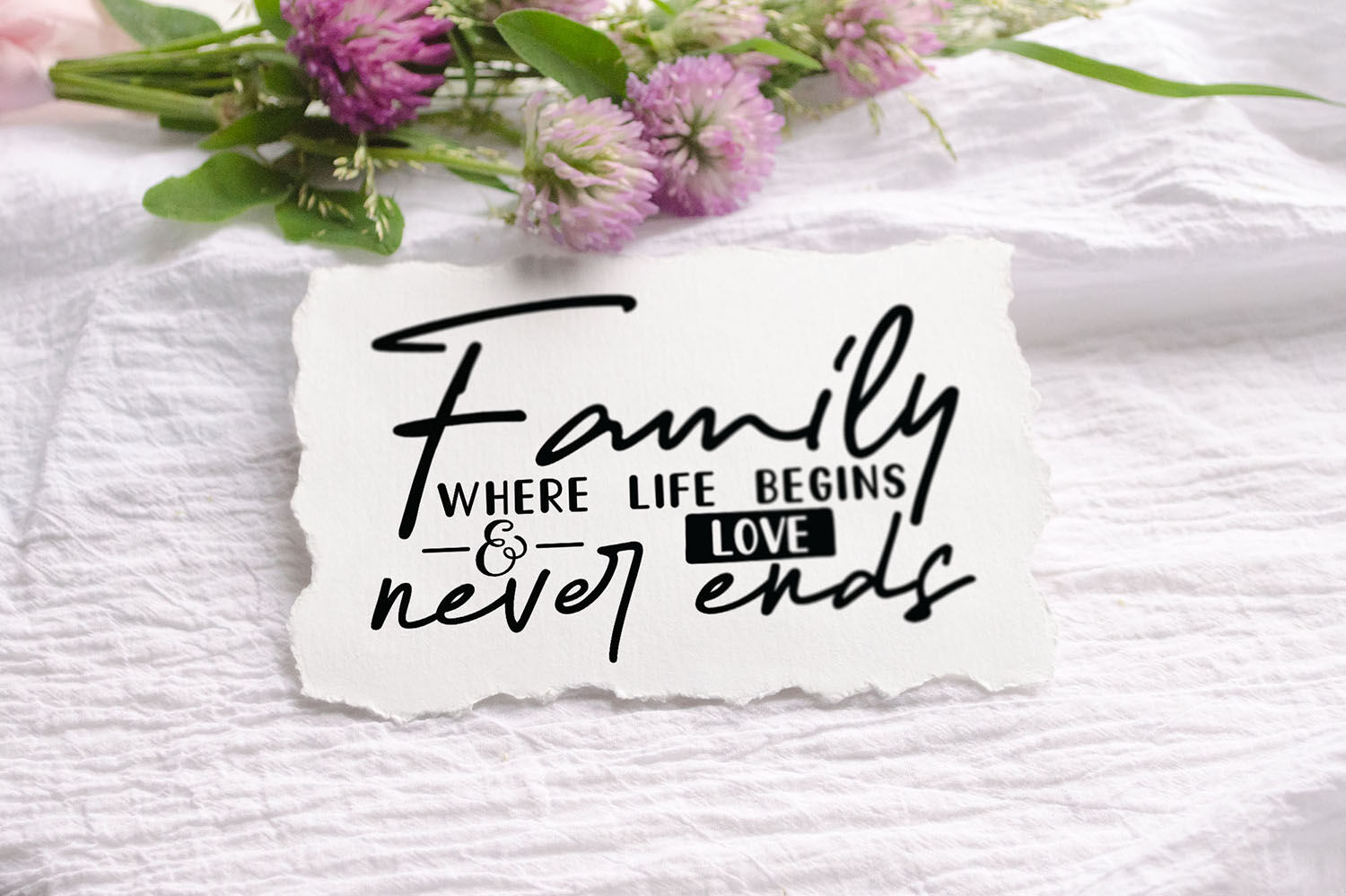 Download Family Where Life Begins & Love Never Ends, Family Quote ...