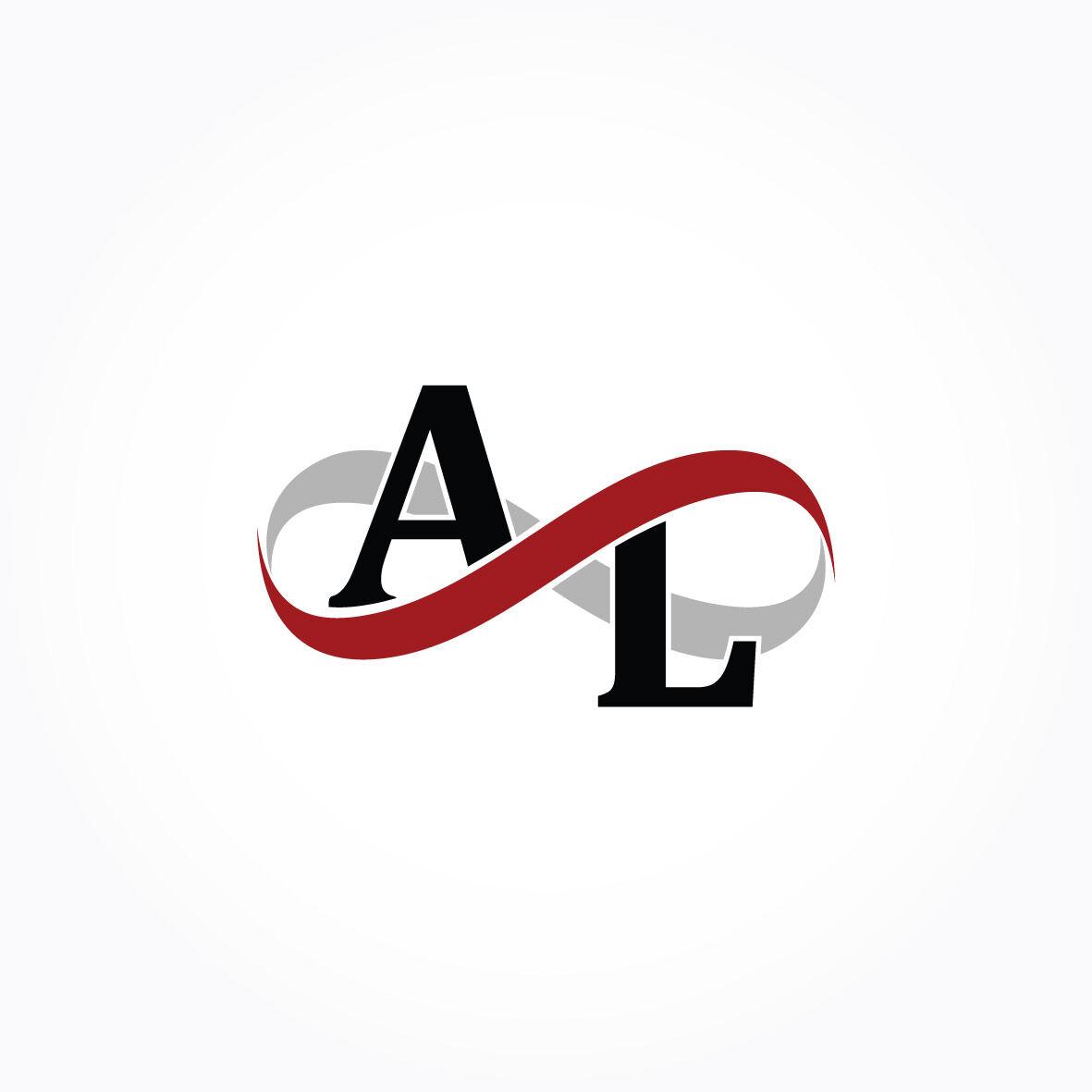Al Infinity Logo Monogram By Vectorseller Thehungryjpeg Com