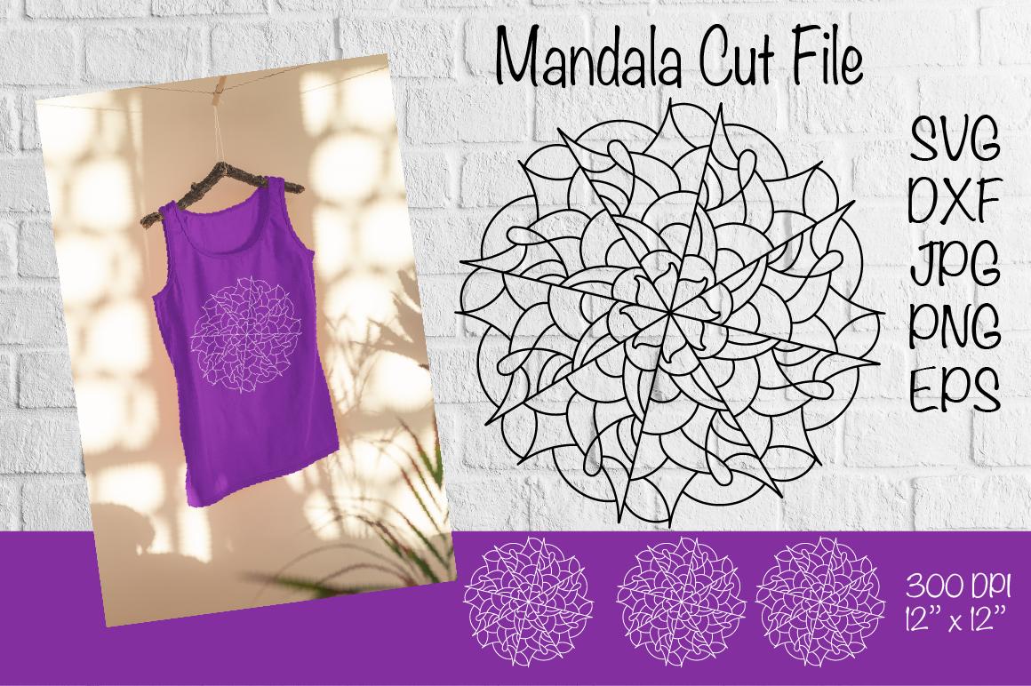 Mandala Svg Mandala Cut File Mandala Paper Template By Createya Design Thehungryjpeg Com