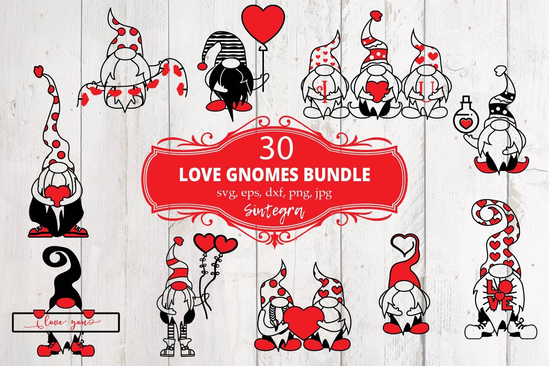 Download 30 Valentine Love Gnome Svg Bundle By Sintegra ...