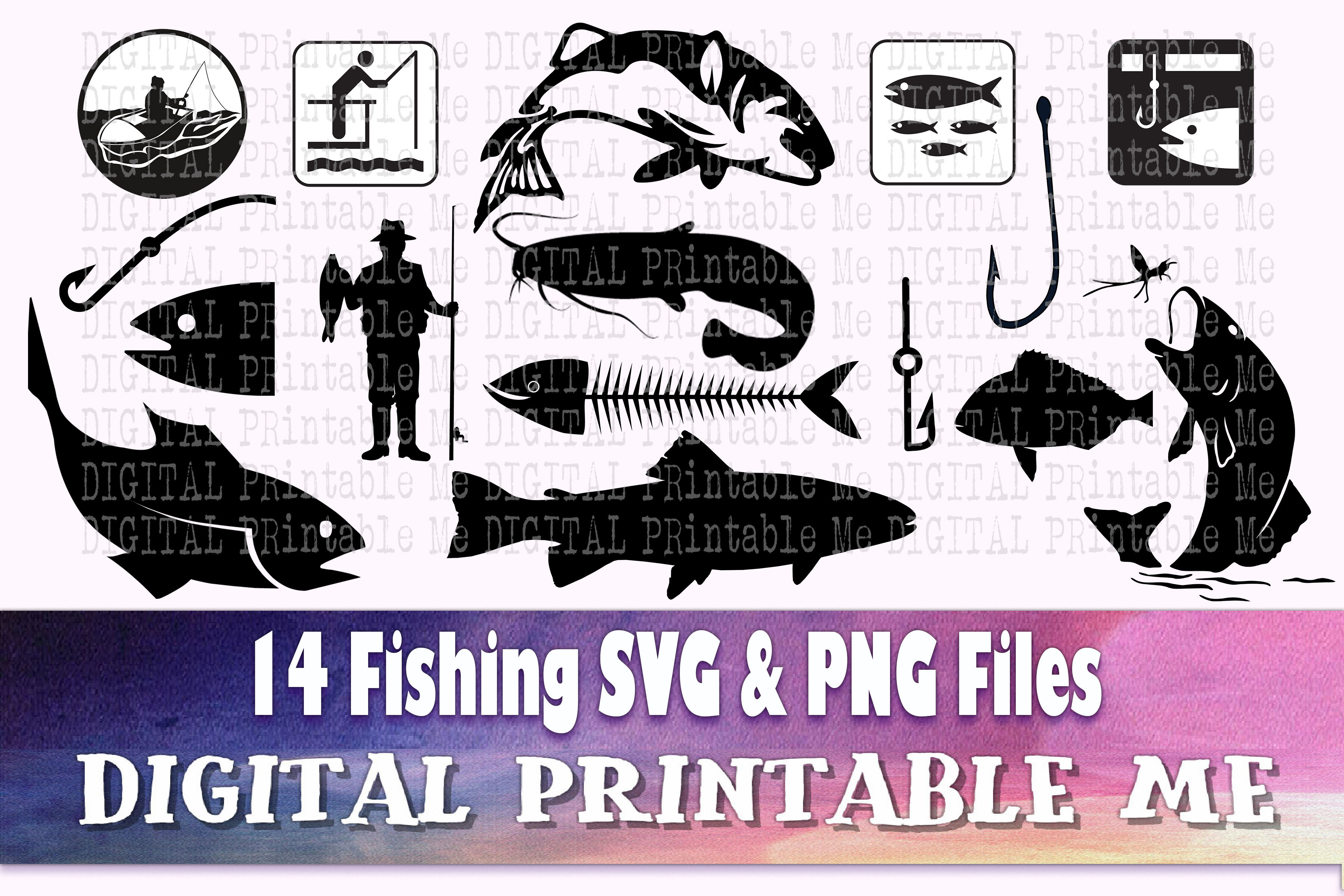 Download Fishing Svg Bundle Fisherman Line Art Shape Silhouette Png Clip A By Digitalprintableme Thehungryjpeg Com