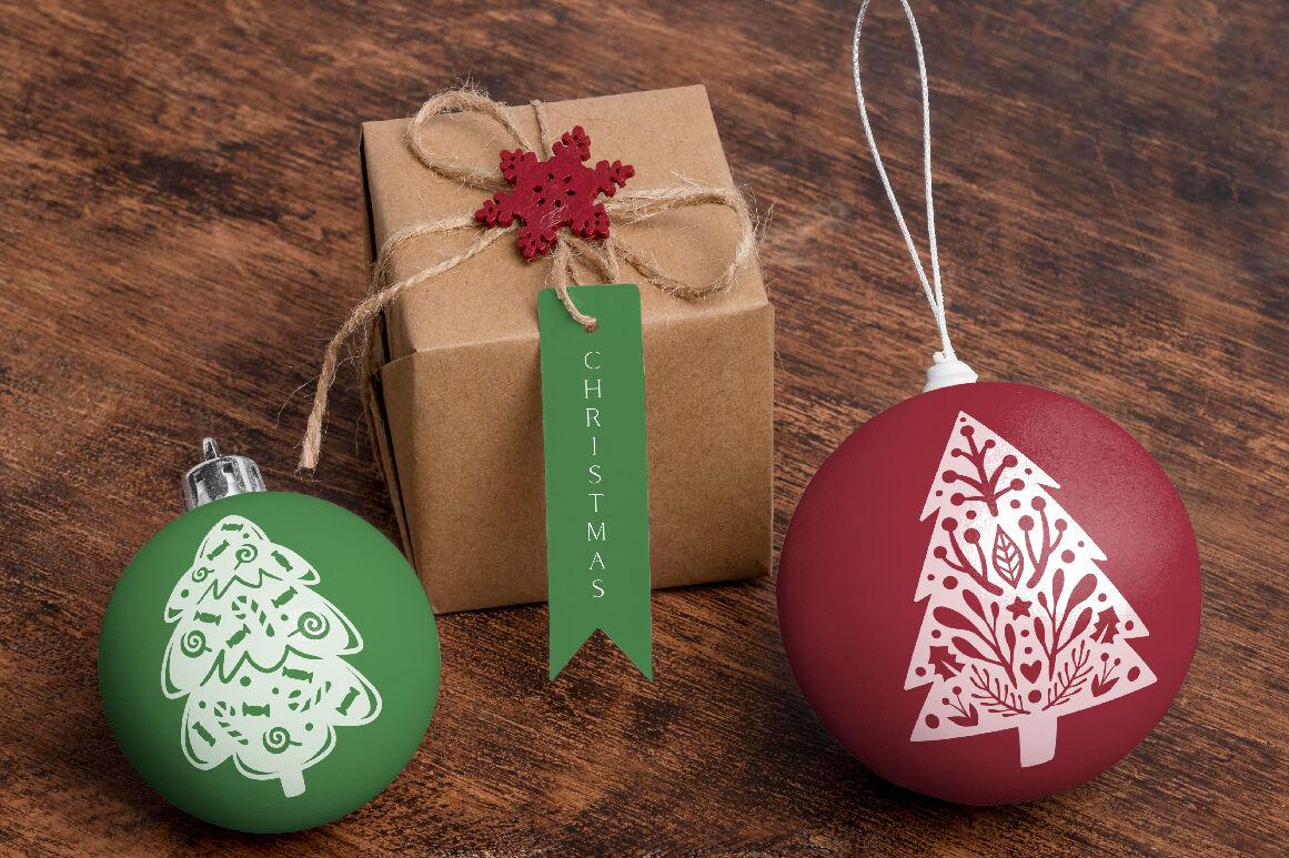 Christmas Trees SVG Cut-Files By Stars n Skies ...