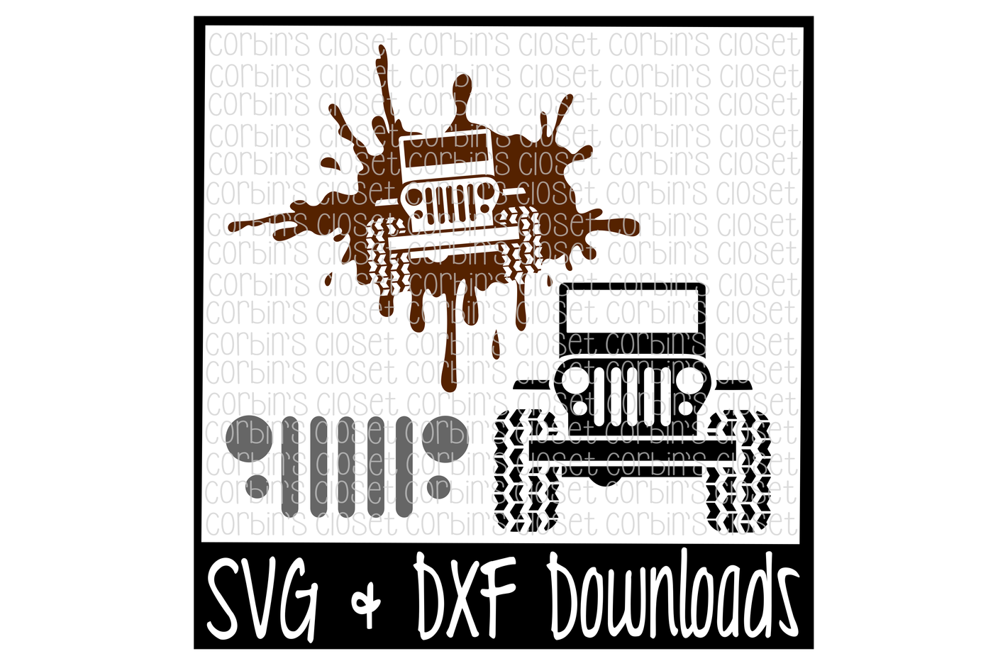 Off Road Jeep Cutting File By Corbins Svg Thehungryjpeg Com
