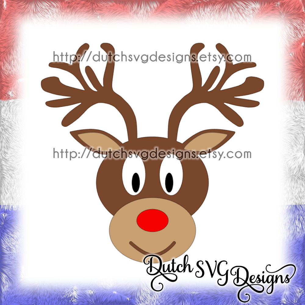 Reindeer Cutting File And Or Printable In Jpg Png Studio3 Svg Eps