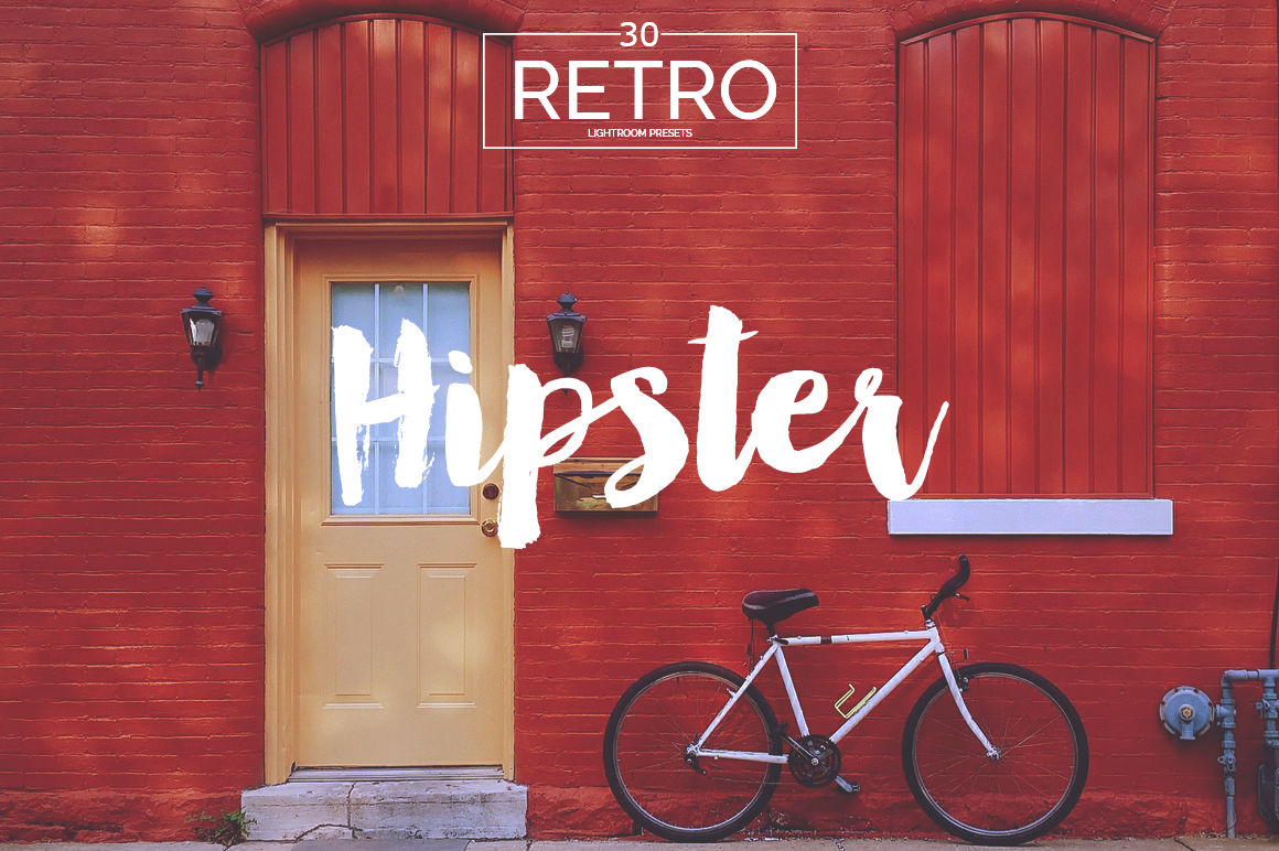 Retro Lightroom Presets By KrystalDesignsCo    TheHungryJPEG com