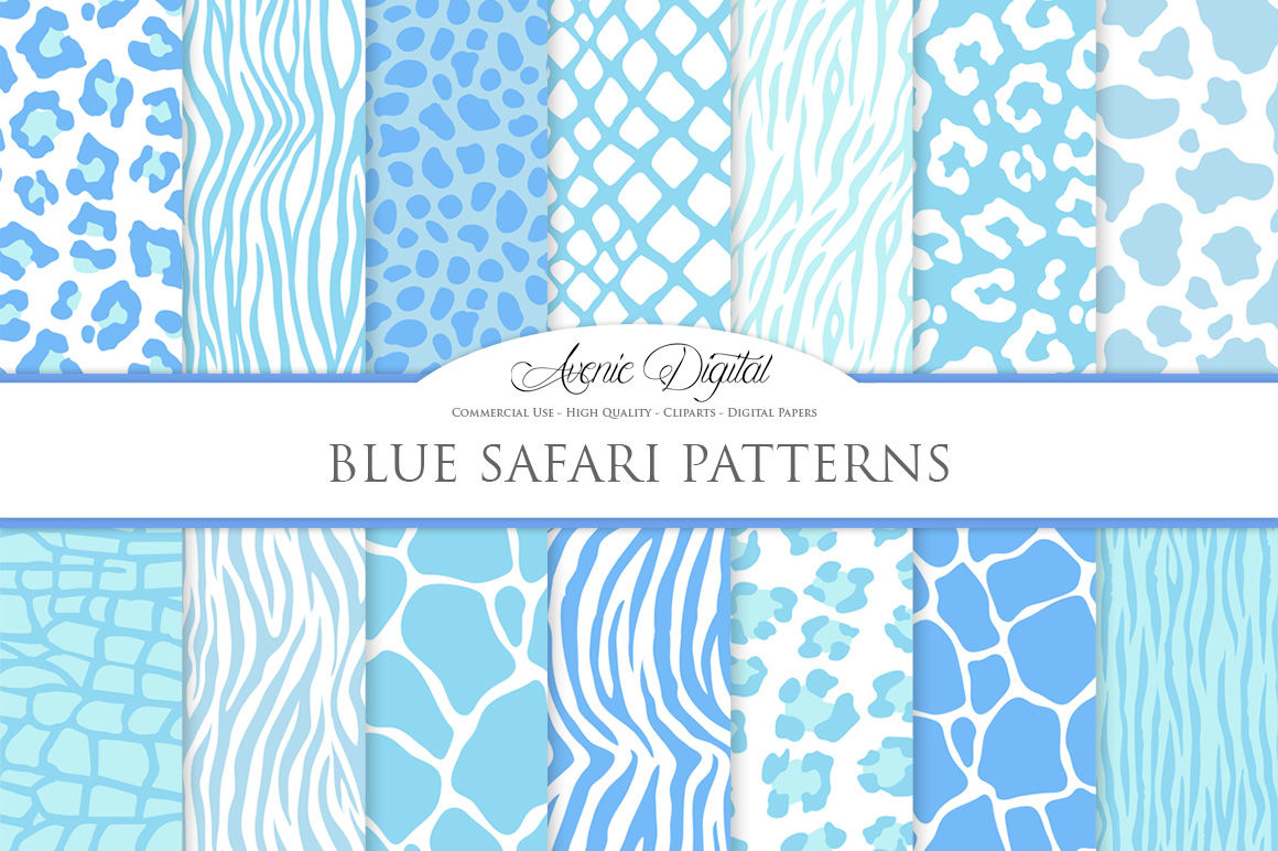 Morocco brown and blues pattern,printable digital paper pack