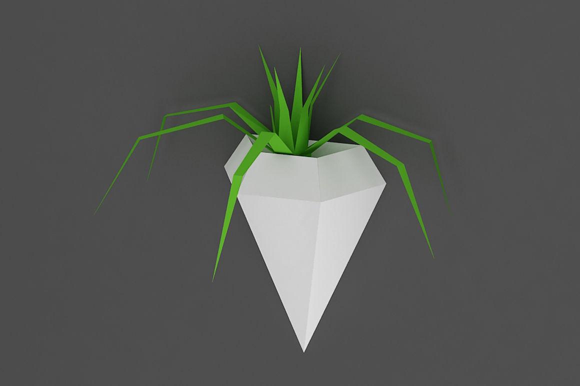 Diy Diamond Planter Printable By Paper Amaze Thehungryjpeg Com