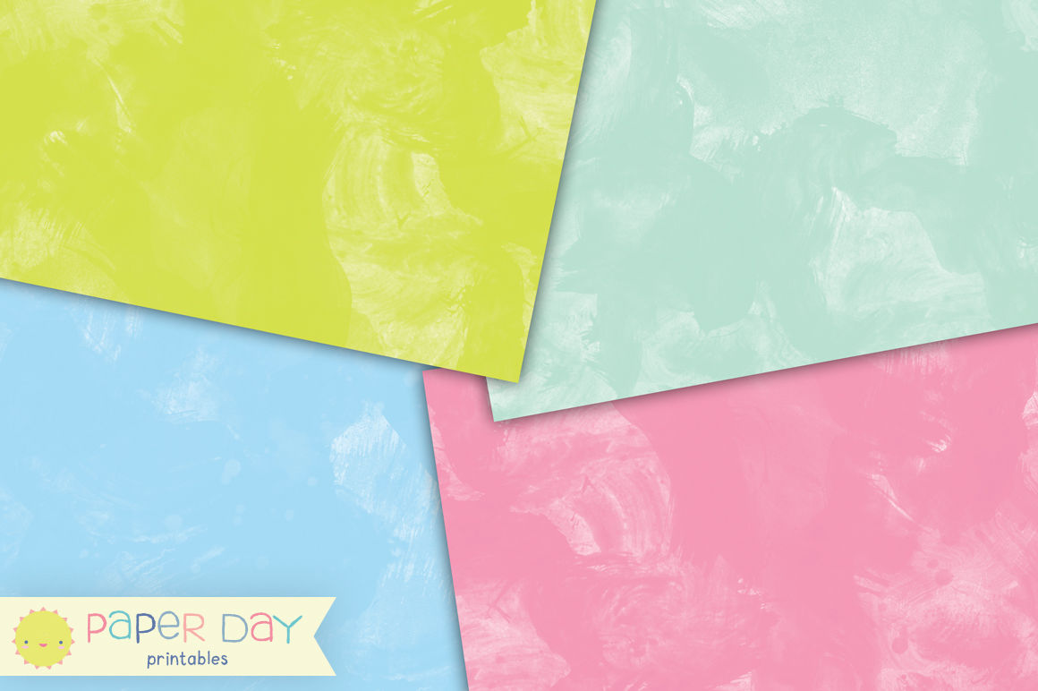 graphic about Printable Watercolor Paper called Pastel Watercolor Paper Pack By means of Paper Working day Printables